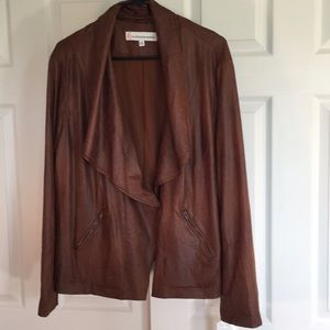 Jackets & Blazers - Giuliana Rancic faux leather jacket